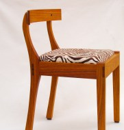 Dining Chair: Canarywood