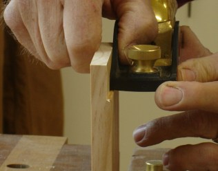 Trued up with Rabbet Block Plane
