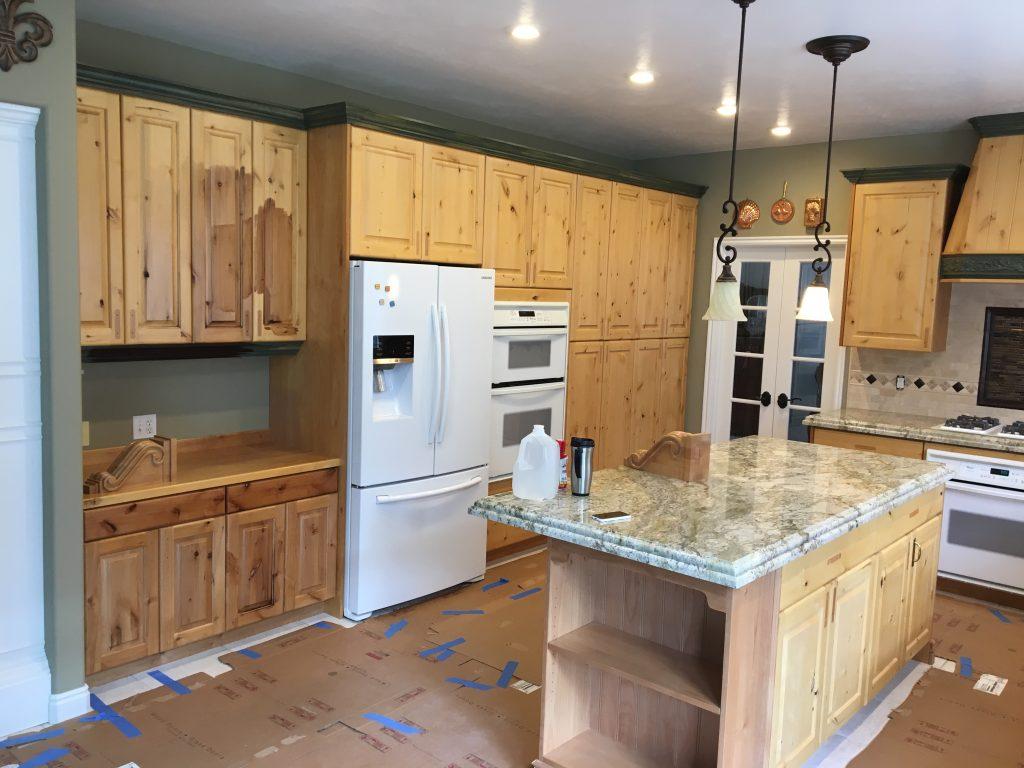 Cabinet Refinishing In Ogden Woodworks Refurbishing