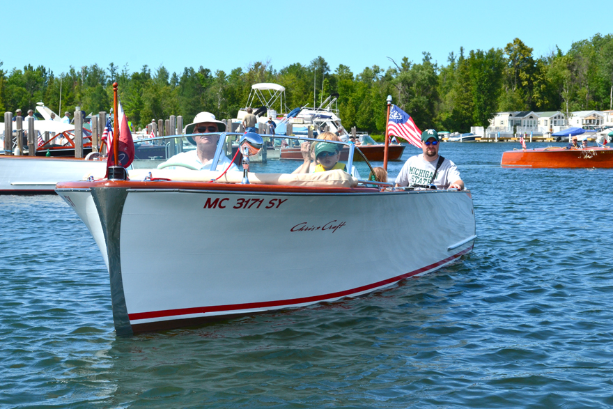 White sided cedar U22 Sportsman - Torch lake