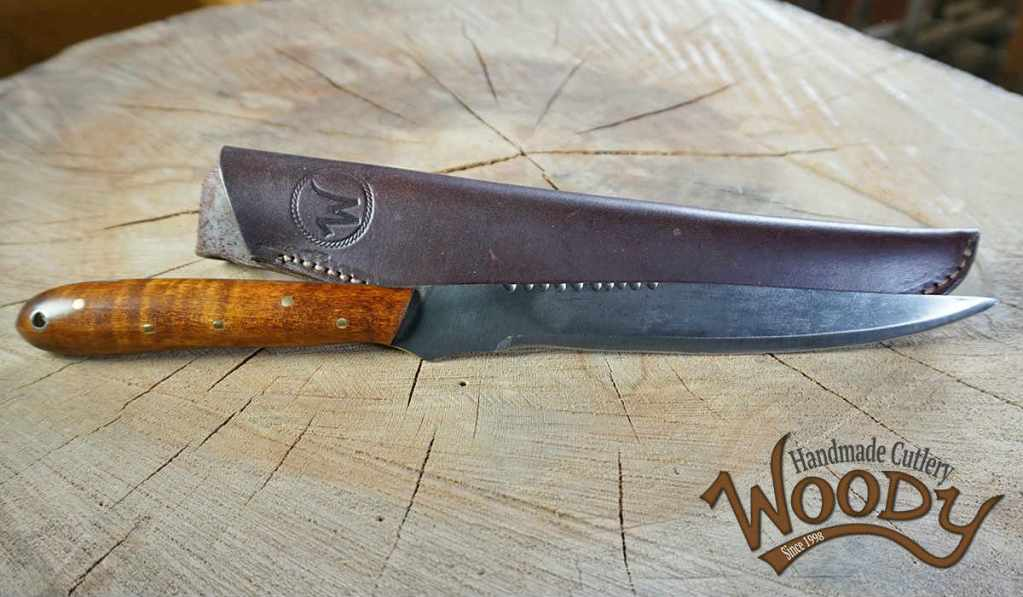 "Woody ""King Jeremy"" Fillet Knife"