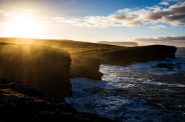 Woody Musgrove Photography Orkney Landscape Yesnaby Cliffs Sunrise