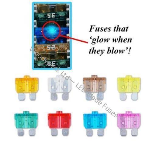 LED Blade Fuses