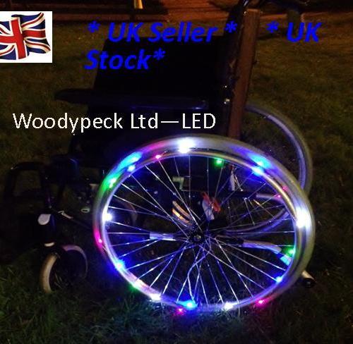 LED Wheel Lights & Arm Bands