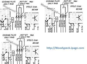19871988 Dim Dip – Coding Plug wiring diagrams | CREE LED Lights & Bulbs for Car HeadLights