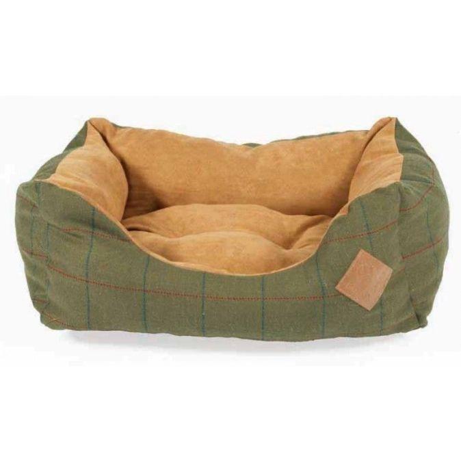 Tweed Dog Bed
