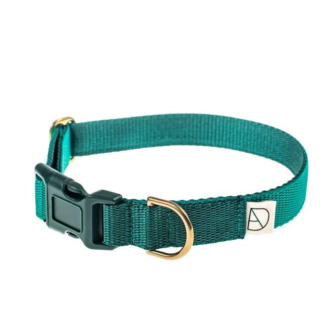 Emerald and Green Dog Collar