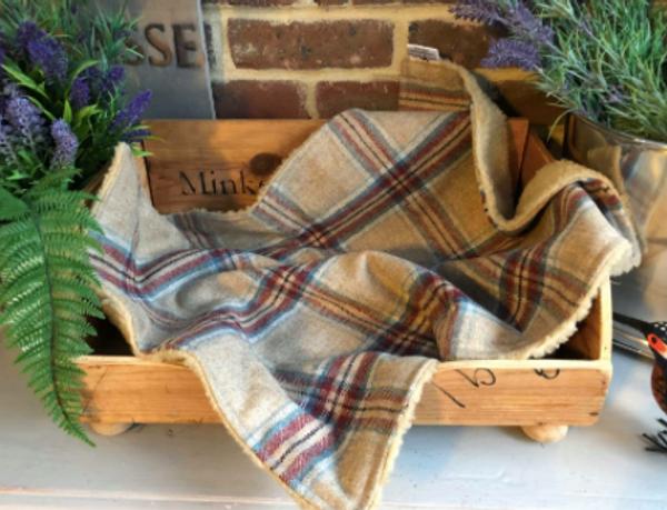 Luxury Tweed Dog Blanket - Fergus
