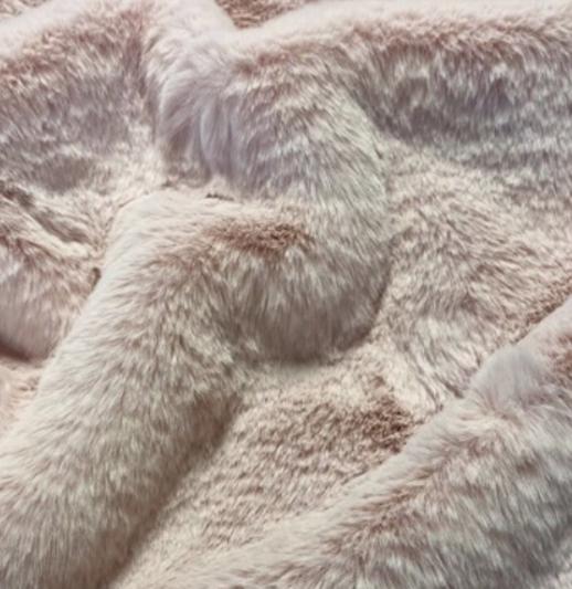 Sorbet Faux Fur Dog Blanket