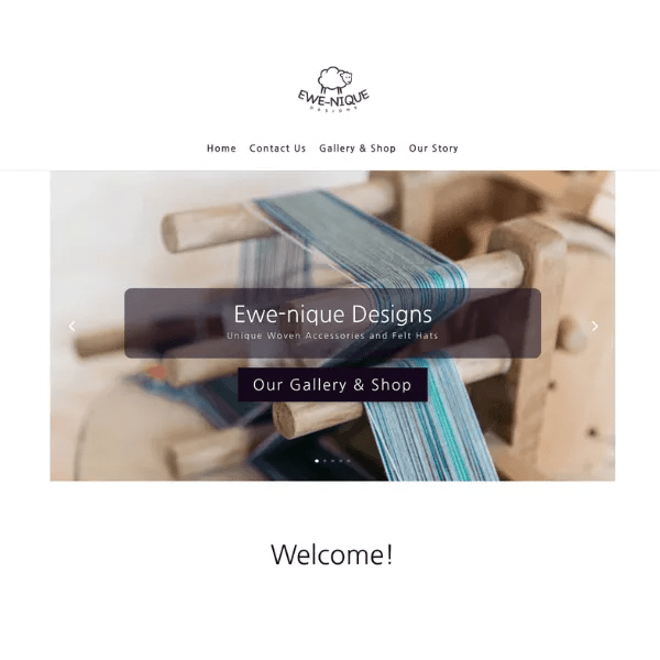 Ewe-nique Designs - Client of Woof Designs