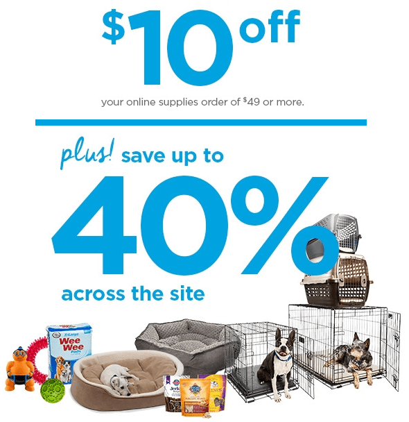 10 OFF Petco Coupon Code Pet Supplies Up To 40 Percent