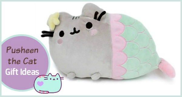 Pusheen The Cat Coloring Book Calendar Mermaid And More