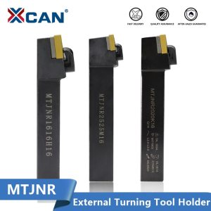 XCAN External Triangul Turning Tool Holder with Carbide Insert MTJNR1616H16 MTJNR2020K16 MTJNR2525M16 CNC Lathe Turning Tools