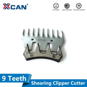 1 Set 9T Replaceable Sheep / Goats Shearing Clipper straight tooth blade Alternative