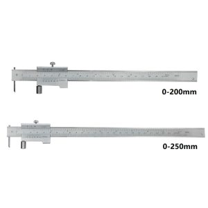 XCAN Marking Vernier Caliper 0-200mm /250mm with Carbide Scriber Stainless Steel Parallel Marking Vernier Caliper Marking Gauge
