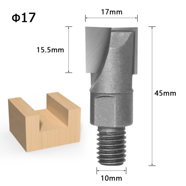Screw thread screw bottom cleaner