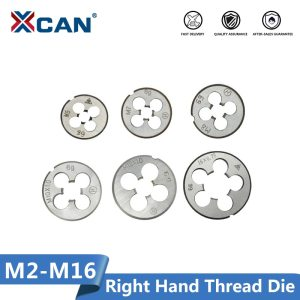 XCAN M2-M16 Right Hand Thread Die Metric Machine Screw Die