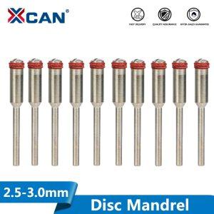 XCAN 10pcs 2.35/3.0mm Disc Mandrel Shank Cut-off Wheel Handle for Dremel Rotary Accessories Tools Polishing Wheel Mandrels