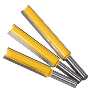 """1 pc Straight/Dado Router Bit 1/2"""" Dia. X 3"""" Length - 8"""" Shank Woodworking cutter Wood Cutting Tool"""