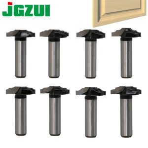 "1 pc 1/2"" Shank Woodworking Door Frame Router Bits for wood carbide lassical door cabinet bits Engraving Milling Cutter"