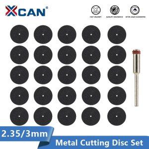 XCAN Metal Cutting Disc 2.35/3.0mm Mandrel Rotary Cut Off Saw Mini Circular Saw Blade