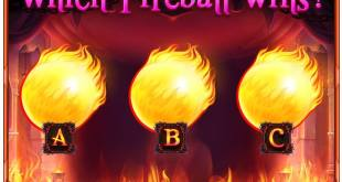 Caesars Baco winning fireball 10MCoins