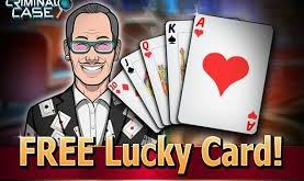 criminal case free lucky card