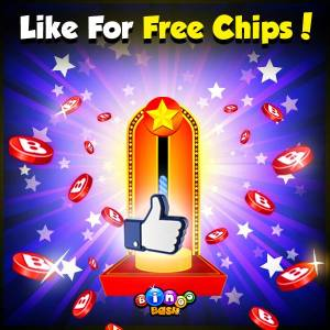 Bingo Bash Likes 👍 = More FREE CHIPS