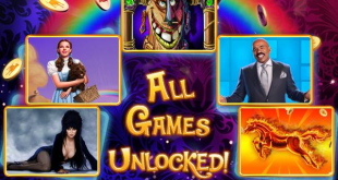 Hit It Rich! All games are unlocked Bonus