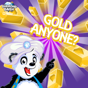 diamond dash gold gold anyone