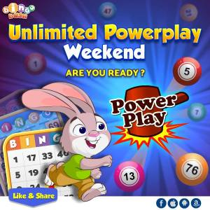 Bingo Bash Bingo Powerplay Weekend Free Chaips