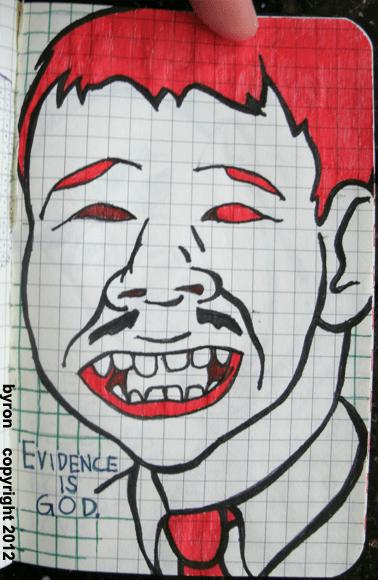 000077 - evidence is god