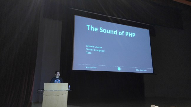 The Sound of PHP by Steven Cooper