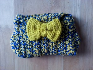 Pochette au crochet pour mon GPS - handbag in crochet for my GPS (1)