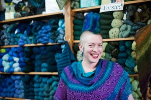 Rose city Yarn Crawl - Northwest wools-5