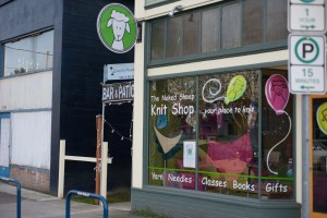 The naked Sheep - Rose City Yarn Crawl