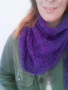 Glam Shell shawl - small-13