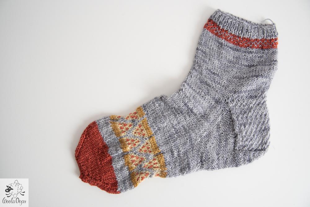 chaussette tricotées