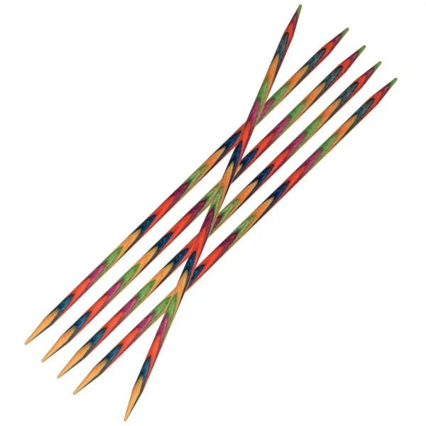 Шкарпеткові дерев'яні спиці KnitPro Symfonie Wood 20 см