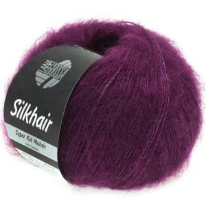 Lana Grossa Silkhair 100 фіолетовий