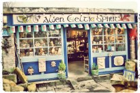 one of the quirky little shop