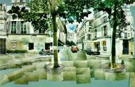 """Place furstenberg, Paris"" August 1985, David Hockney, -http://3.bp.blogspot.com/-8MTV9ouBBDI/UQeMNhBo_II/AAAAAAAAWE0/WE3n4vdQF4s/s1600/hockney-furstenberg-paris.jpg - date; 13/04/2014"