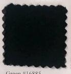 Pendleton melton wool in dark green.