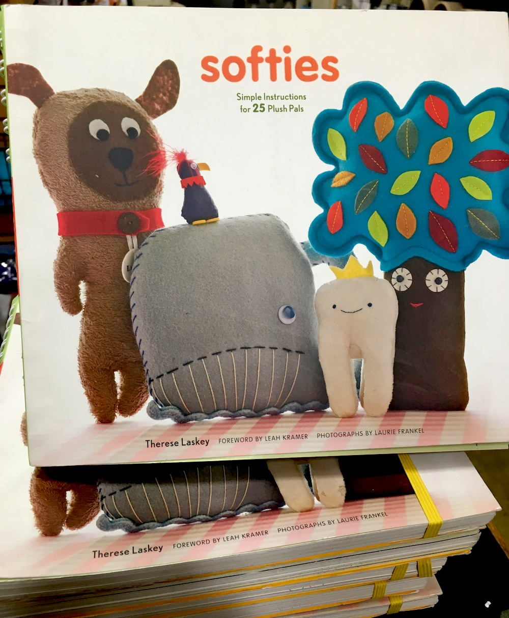 A stack of books, Softies by Therese Laskey
