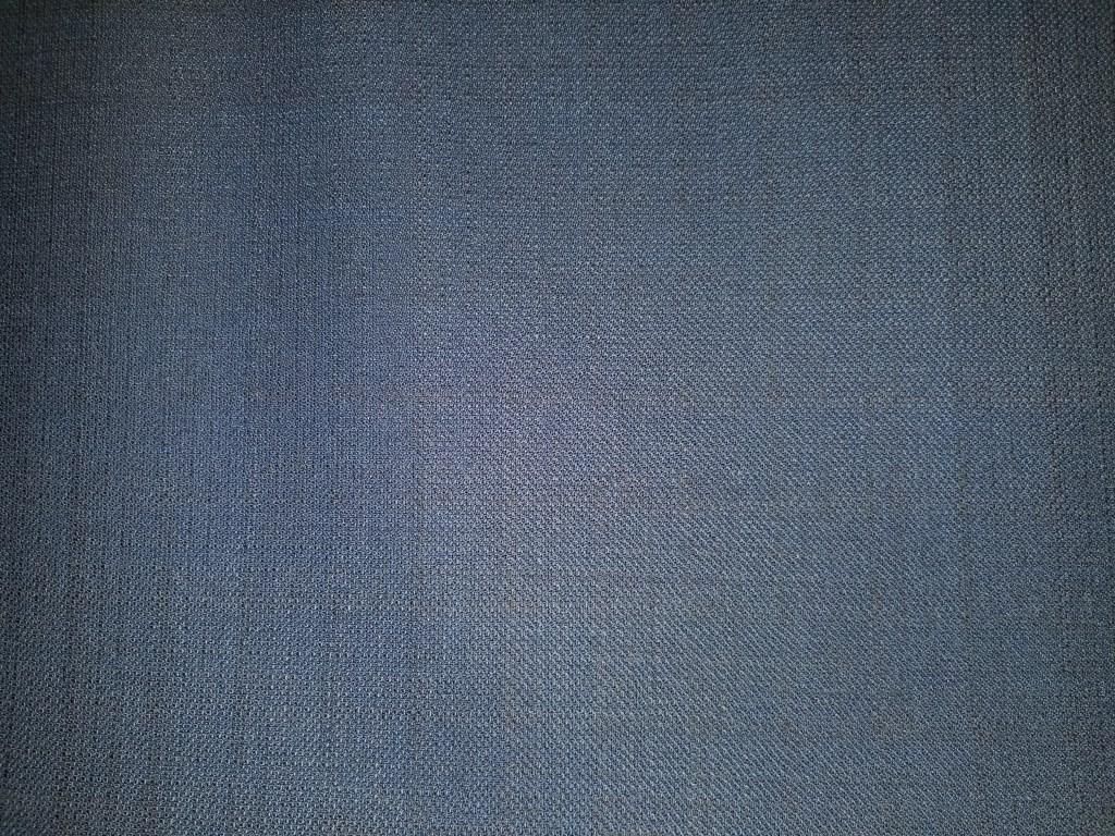 Linen/Wool blend fabric in a dark blue