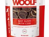 Snack Woolf Sushi Ternera y Bacalao