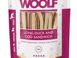 Snack Woolf Sandwich Largo Pato y Bacalao