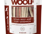 Snack Woolf Sandwich Largo Ternera y Bacalao