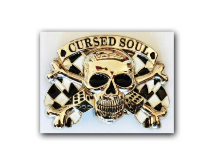 "Belt Buckle ""Cursed Soul"""