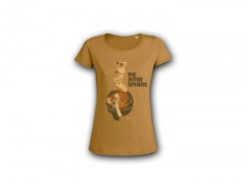 "The Intersphere T-Shirt ""Relations In The Unseen – brown"" Girl"